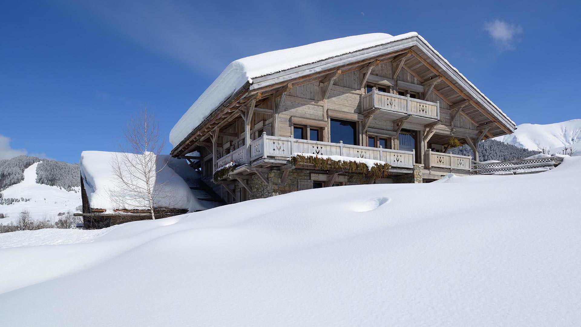 Chalet Alpes - Vue 2
